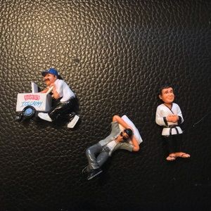 Homies figures - sets of 3 as shown